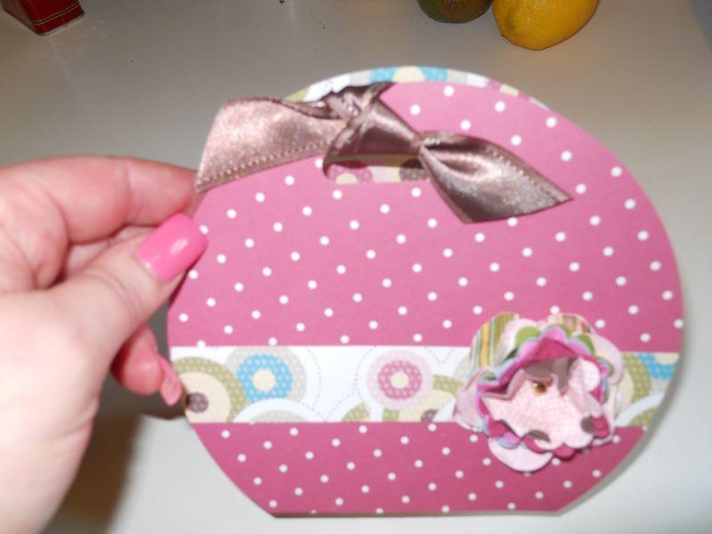 Circle purse
